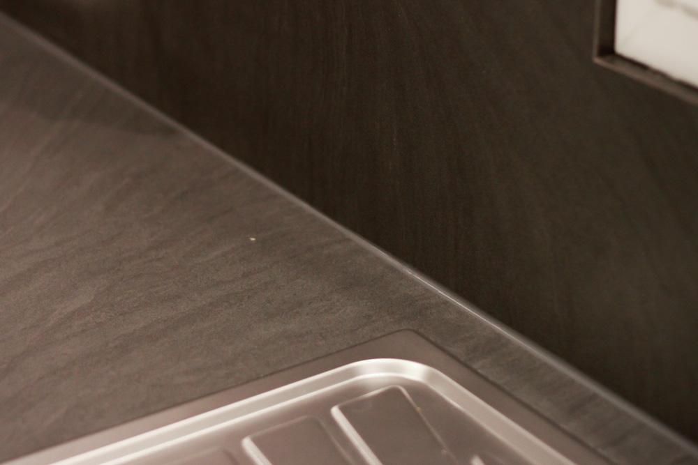 plan de travail cuisine en zinc