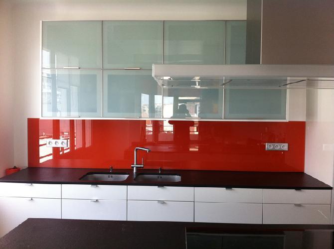 Credence Cuisine Orange - Décoration de maison idées de design d ...