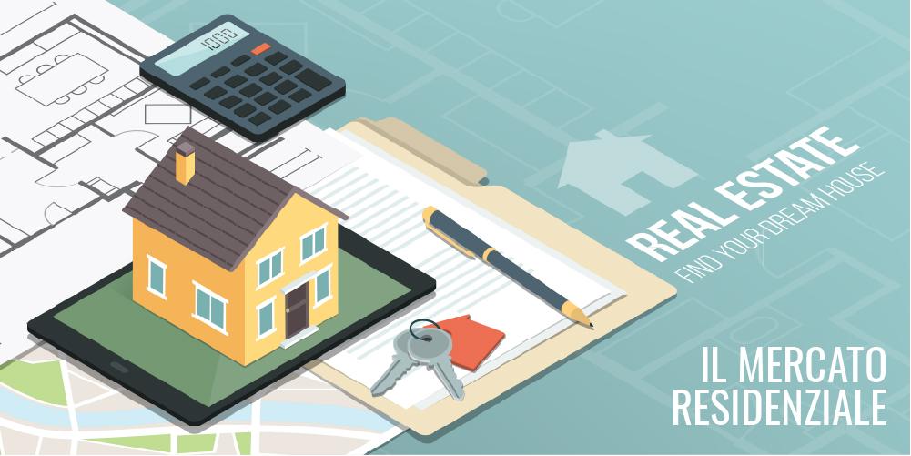 Mercato Immobiliare Residenziale: i dati del terzo trimestre