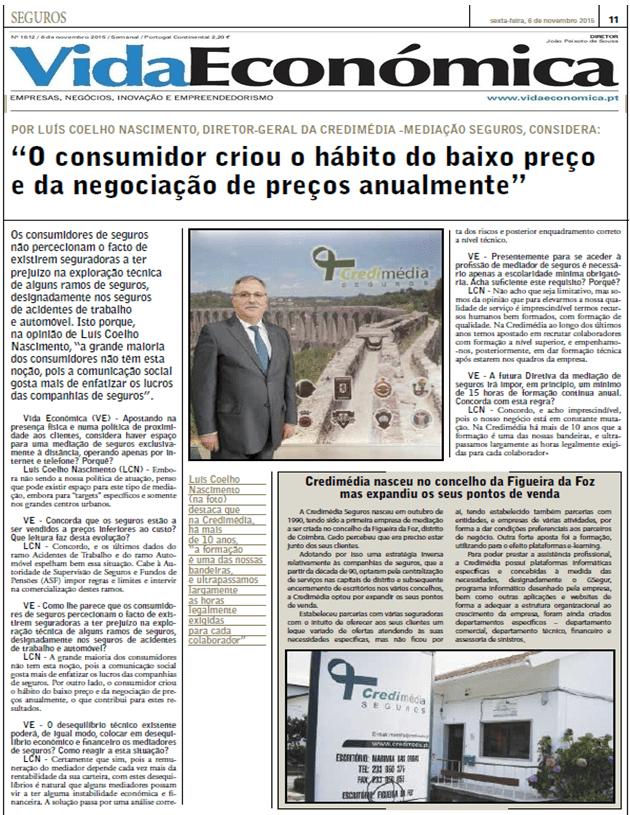 Suplemento - Jornal Vida Económica 06.11.2015