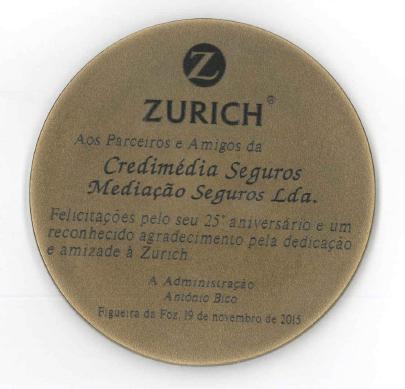 Zurich.medalha
