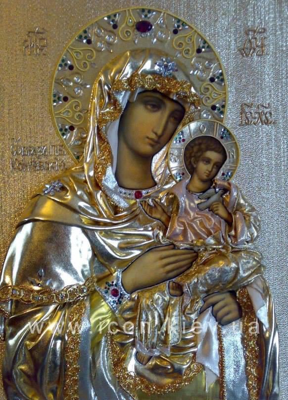 Maica Domnului, Preasfanta Nascatoare de Dumnezeu impreuna cu pruncul Iisus * www.credinta-ortodoxa.com