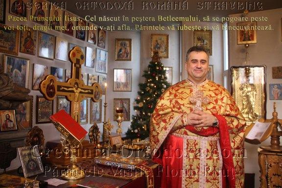"""Pfarrer Vasile Florin Reut * Rumänisch-Orthodoxe Kirchengemeinde """"Heiligen Konstantin und Helena"""" Straubing e. V."""