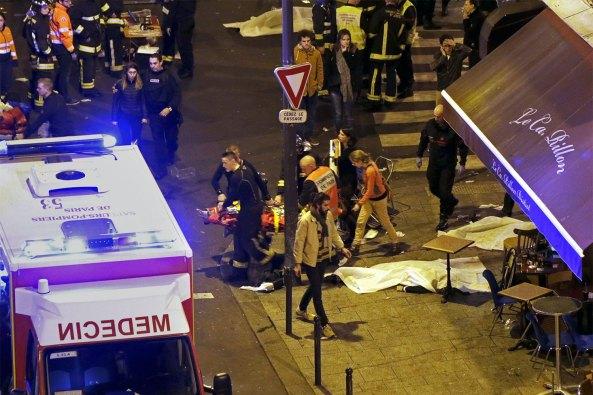 13 Noiembrie 2015 - Atac terorist in Paris - GRAV SI INGROZITOR!