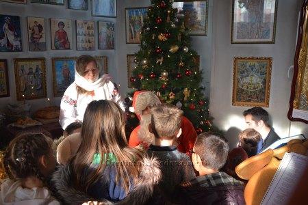 Venirea Moşului în ziua de Crăciun
