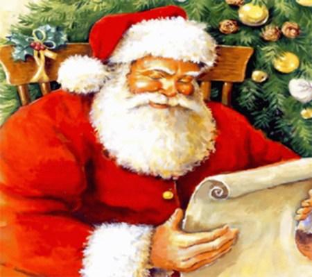 Scrisoare şi dorinţe de Sfântul Nicolae şi de Moş Crăciun