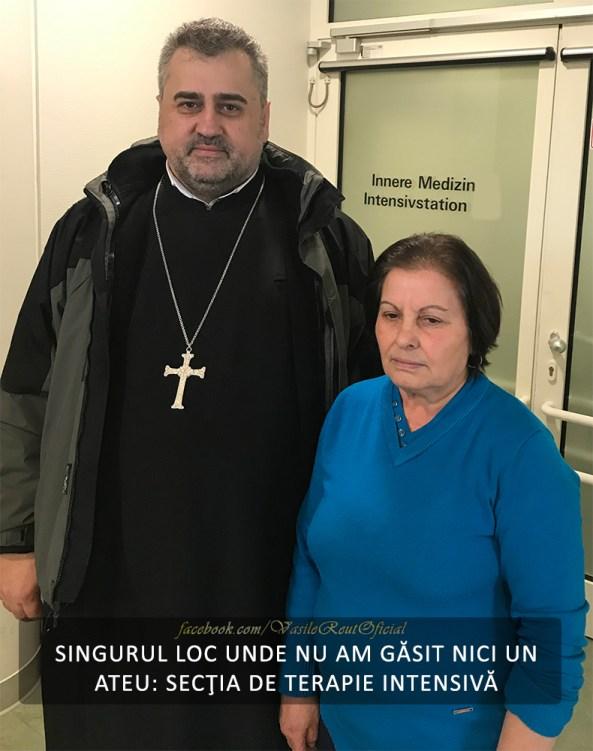 SINGURUL LOC UNDE NU AM GĂSIT NICI UN ATEU: SECŢIA DE TERAPIE INTENSIVĂ...