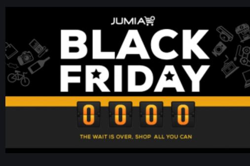 Jumia Black Friday Shopping Deals and Sales 2019 Date