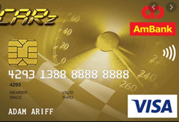 AmBank CARz Visa Card
