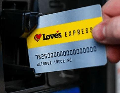 Loves Express Credit Card