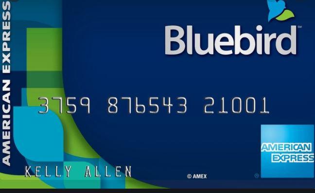 Bluebird Card Application - Login
