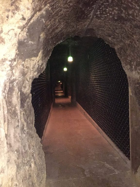 Wine caves in Napa