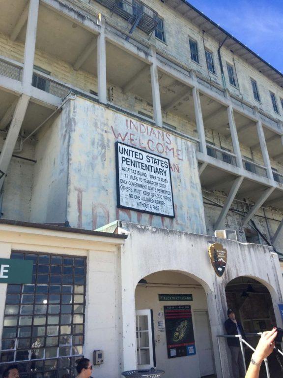 Alcatraz entrance