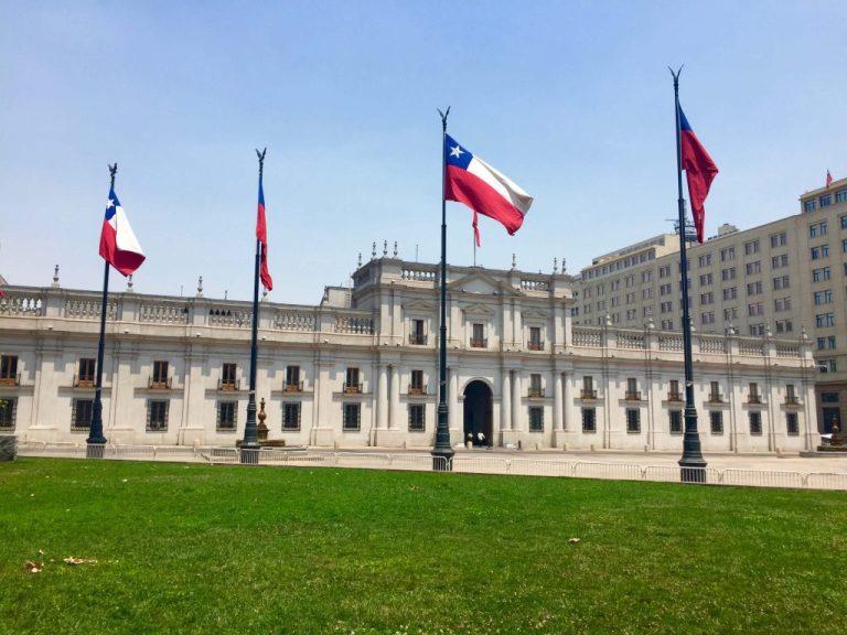 La Moneda, Santiago, Chile