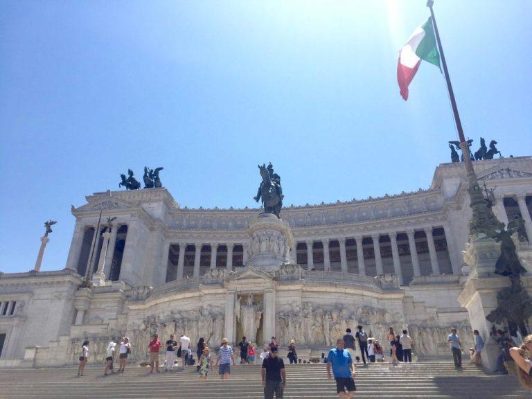 Piazza Venezia Monument