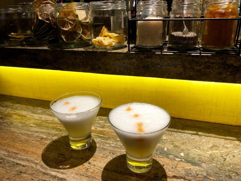Pisco Sours at the JW Marriott Cusco