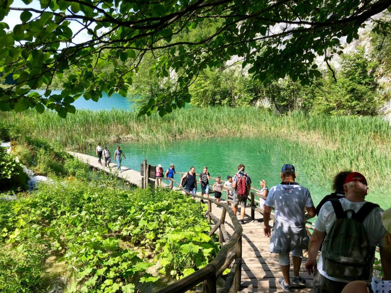 Boardwalk in Plitvice Lakes