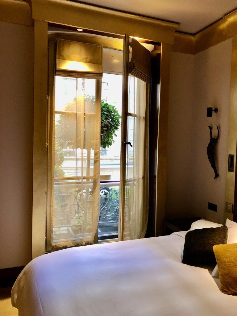 Balcony in Park Hyatt Paris King Deluxe Room