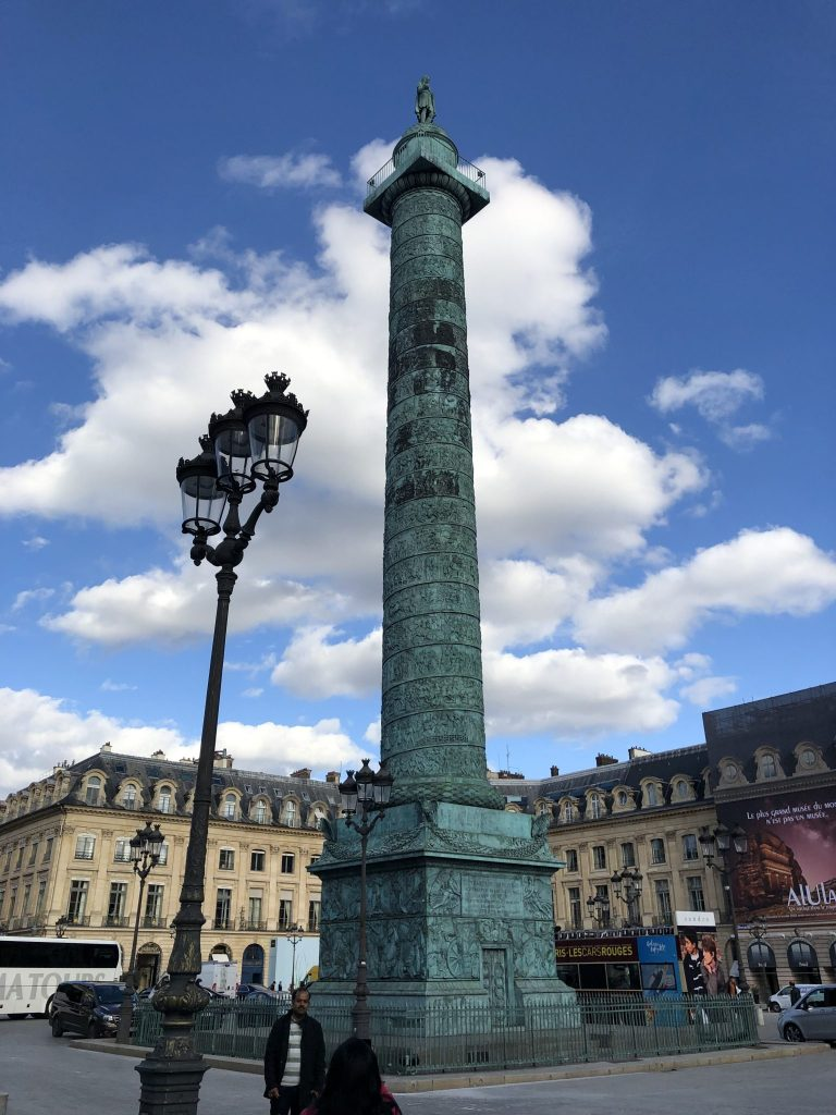 Vendôme Column in Place Vendôme Paris