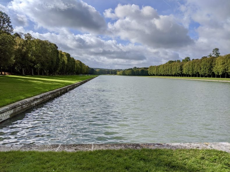 Grand Canal at the Palace of Versailles