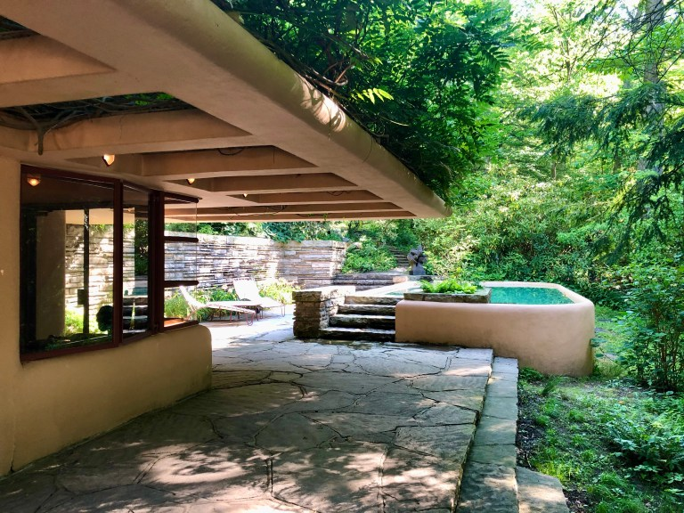 Fallingwater Pool and Guest House