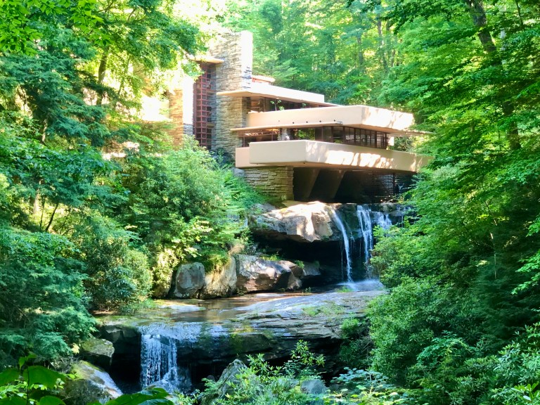 Fallingwater Famous Viewpoint