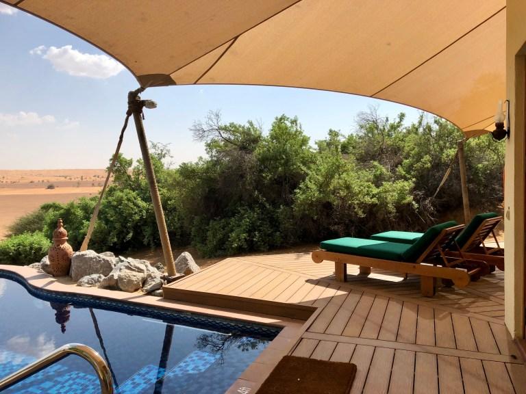 Al Maha Bedouin Suite Pool