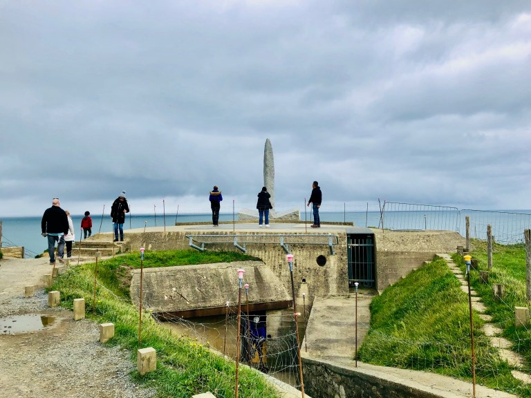 Pointe du Hoc Bunker and Monument