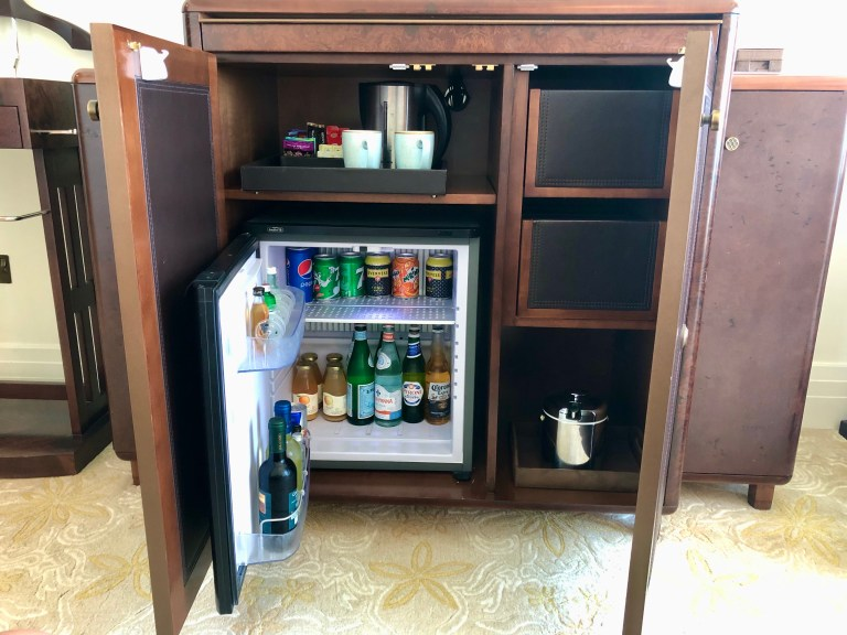 St. Regis Abu Dhabi Mini Fridge