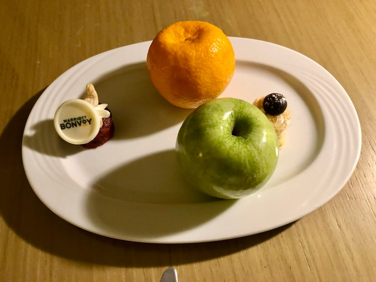 Le Meridien Cairo Airport Welcome Amenity