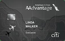 Citibank AAdvantage Executive Credit Card