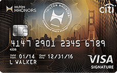 Hilton HHonors Credit Card