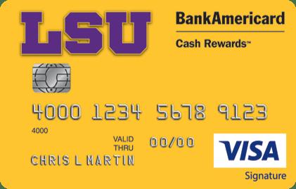 LSU Credit Card