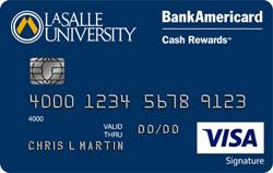 LaSalle University Credit Card