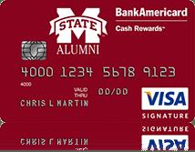 Mississippi State University Credit Card