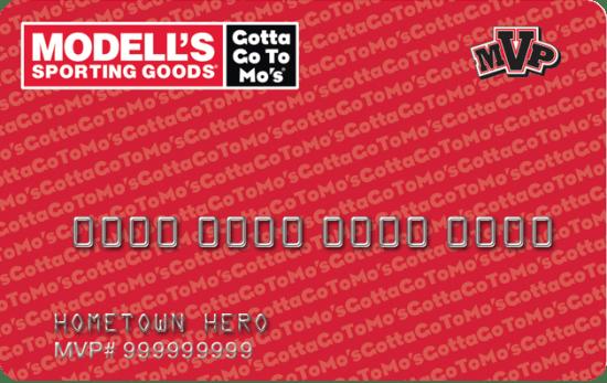 Modells Credit Card
