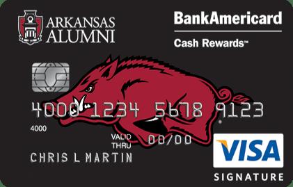 University of Arkansas Credit Card