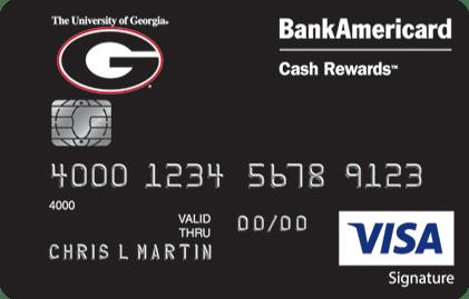 University of Georgia Credit Card