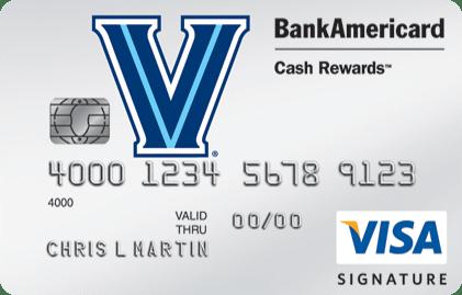Villanova University Credit Card