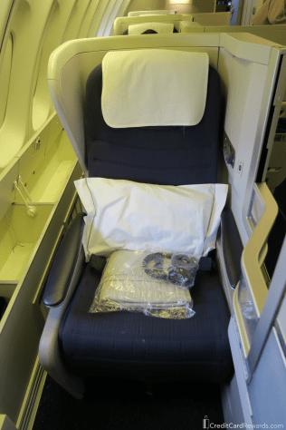 British Airways Business Class Window Seat