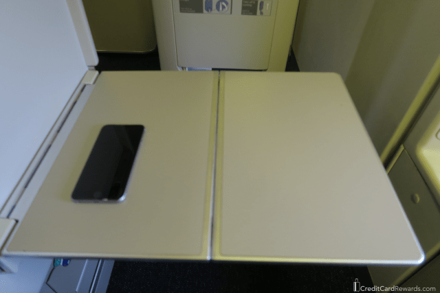 British Airways Business Class Traytable