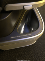 Air Canada Business Class Seat Storage