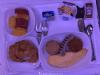 Air Canada Business Class Breakfast