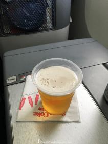 Delta One 767 Business Class Pre-Departure Beverage