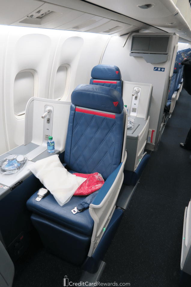 Delta One 767 Business Class Aisle Seat