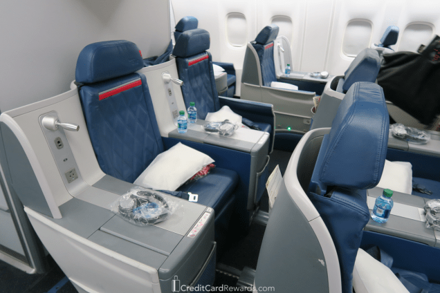 Delta One 767 Business Class Seats