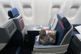 Delta One 767 Business Class Seat