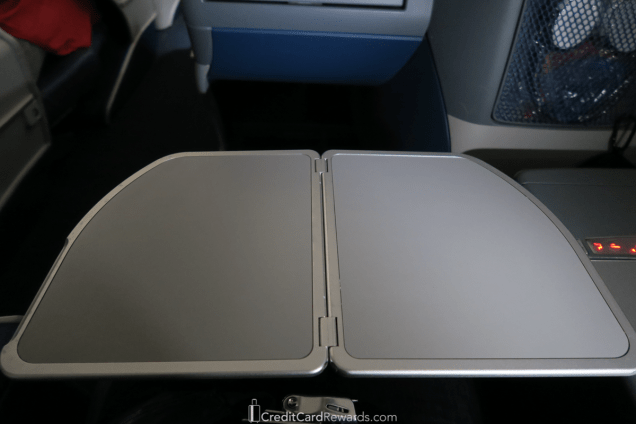 Delta One 767 Business Class Traytable