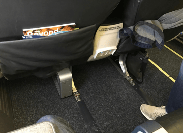 Alaska Airlines Row 6 Premium Class Legroom