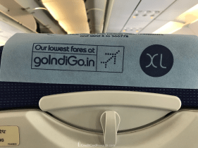 IndiGo Airlines headrest cover